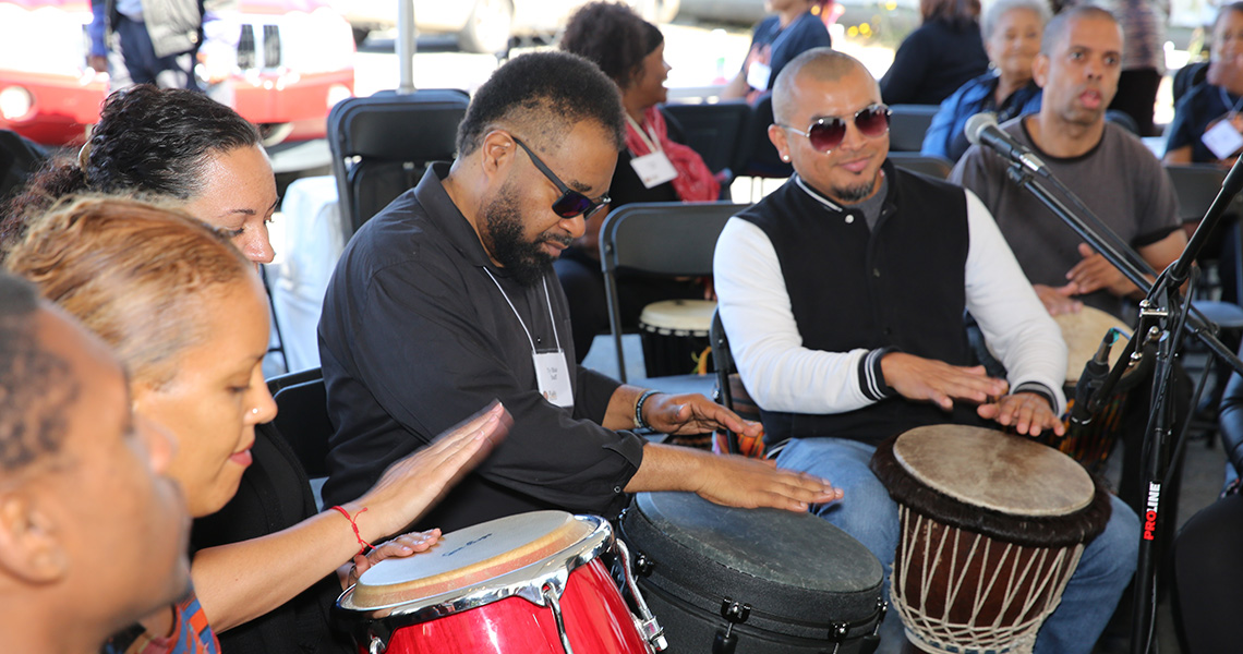 Rafiki drummers
