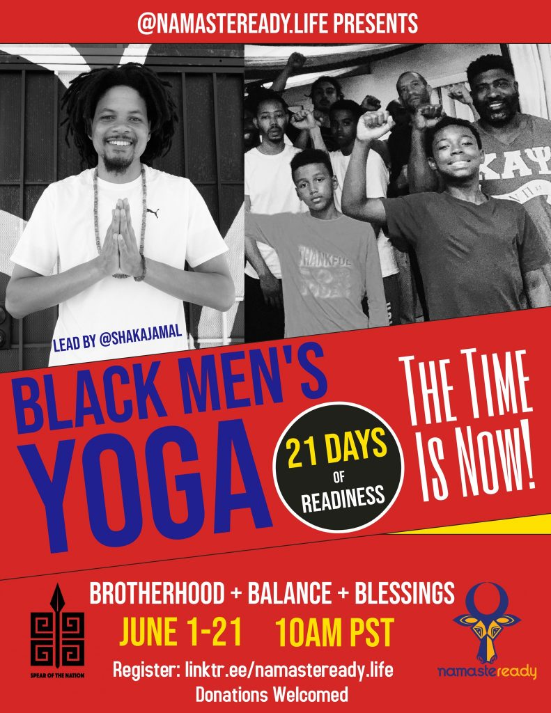 Shaka Jamal's Black Mens Yoga